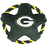 Pets First Star Disk Toy, Green Bay Packers