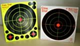 75 Pack - 8' Reactive Splatter Targets - Glowshot - Multi Color - Gun and Rifle Targets - Glow Shot