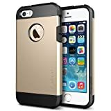 SPIGEN SGP iPhone 5S/5 Case Tough Armor Series Champagne Gold - Carrying Case - Retail Packaging - Champagne Gold