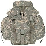 Ultimate Arms Gear Tactical Deluxe ACU Army Digital Camo Camouflage Recon Military Gear MOLLE And ALICE Compatible Butt Pack Buttpack