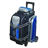 2 Ball Rolling Thunder Bowling Bag by Storm- Blue/Black/Silver