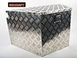 Aleko Aluminium Truck Boat Trailer Tongue Tool Box