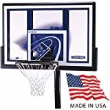 Lifetime 1079 Height Adjustable In-Ground Basketball System with 48-Inch Backboard