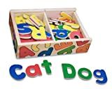 Melissa & Doug Magnetic Wooden Alphabet