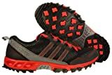 Mens Adidas Kanadia 5 TR Running Shoes Black / Neo Iron / Red Q35439