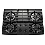 Whirlpool : GLT3057RB 30 Sealed Burner Gas Cooktop Black