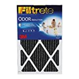 Filtrete Home Odor Reduction Filter, 20-Inch by 30-Inch by 1-Inch, 4-Pack