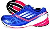 Adidas Womens Adizero Tempo 5 Running Shoes-Lab Blue/White/Pink