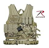 Multi Cam Military Cross Draw Adjustable Tactical Vest