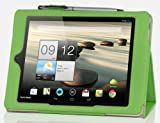 IVSO Acer Iconia A1-810 7.9-Inch Slim-BOOK PU Leather Stand Cover Case (Green)