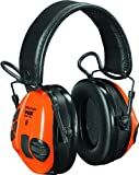 3M Peltor WS Tactical Sport Communications Headset, 20 dB Noise Reduction, Orange/Green
