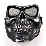 BestDealUSA Death Skull Bone Airsoft Full Face Protect Safety Mask