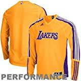 Adidas Los Angeles Lakers On-Court Long Sleeve Shooting Shirt