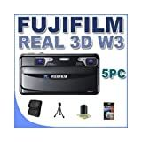 Fujifilm FinePix Real 3D W3 Digital Camera with 3.5-Inch LCD Bundle