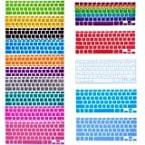 Bundle of 15 Semi Transparent Colorful Keyboard Silicone Cover Skin Protector for Macbook 13' Unibody / Macbook Pro 13' 15' 17' / Macbook Pro 15 With Retina Display** / Mac Wireless Keyboard - With The Friendly Swede� Microfiber Cleaning Cloth and Retail Packa