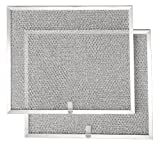 Broan BPS1FA30 30-Inch Aluminum Replacement Filters for QS1 and WS1 Range Hoods, 2-Pack