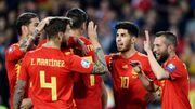 歐國盃外圍賽精華 - 西班牙 2-1 挪威︱洛迪高、拉莫斯各建一功 西班牙旗...