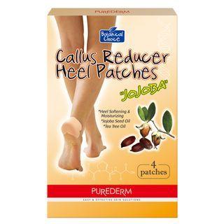 Adesivo Redutor De Calos E Bolhas Purederm Botanical Choice Callus Reducer Heel 4 Unidades
