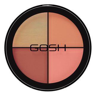 Paleta De Blush Gosh Copenhagen - Strobe' N Glow Kit