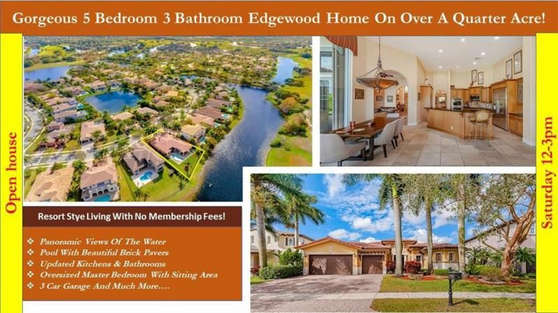 Heron Bay for Sale - 7193 NW 123rd Avenue, Parkland 33076, photo 1 of 47