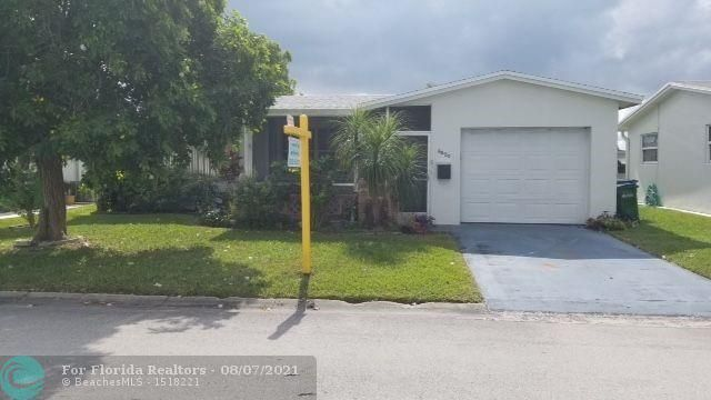 Paradise Gardens Sec. 2 for Sale - 6820 NW 16 St., Margate 33063, photo 1 of 16