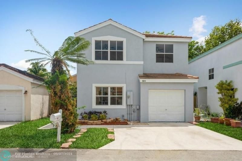 Coral Bay Rep Sec One for Sale - 6184 Mohawk Ter, Margate 33063, photo 1 of 17