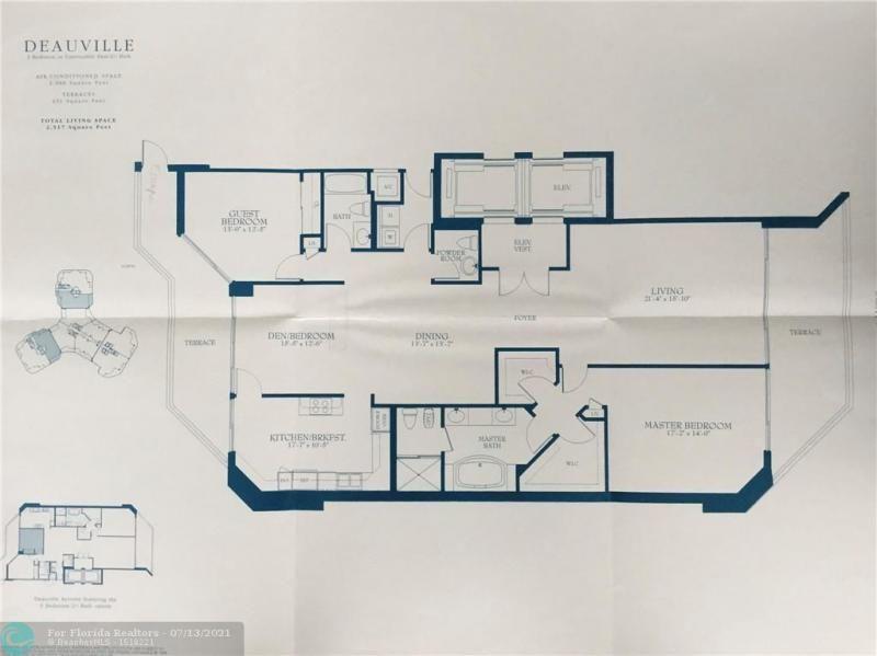 L'Hermitage for Sale - 3100 N Ocean Blvd, Unit 1607, Fort Lauderdale 33308, photo 6 of 14