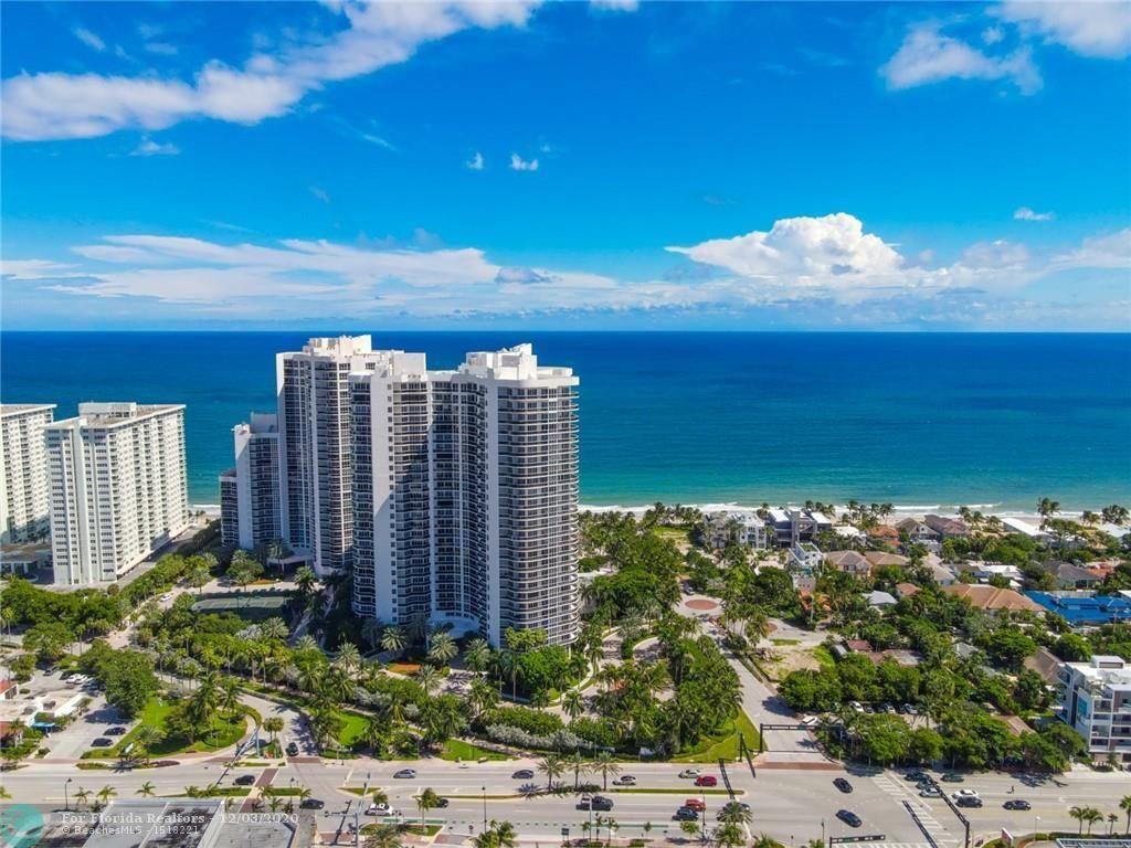 L'Hermitage for Sale - 3100 N Ocean Blvd, Unit 1802, Fort Lauderdale 33308, photo 1 of 21