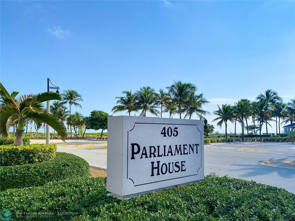 Parliament House for Sale - 405 N Ocean Blvd, Unit 923, Pompano Beach 33062, photo 2 of 37