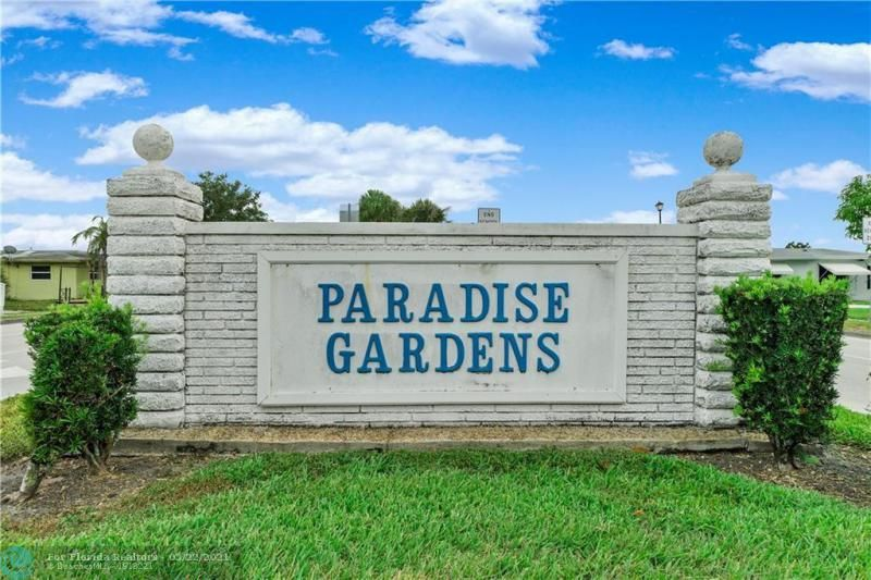 Paradise Gardens Sec 2 for Sale - 6755 NW 15th St, Margate 33063, photo 24 of 27
