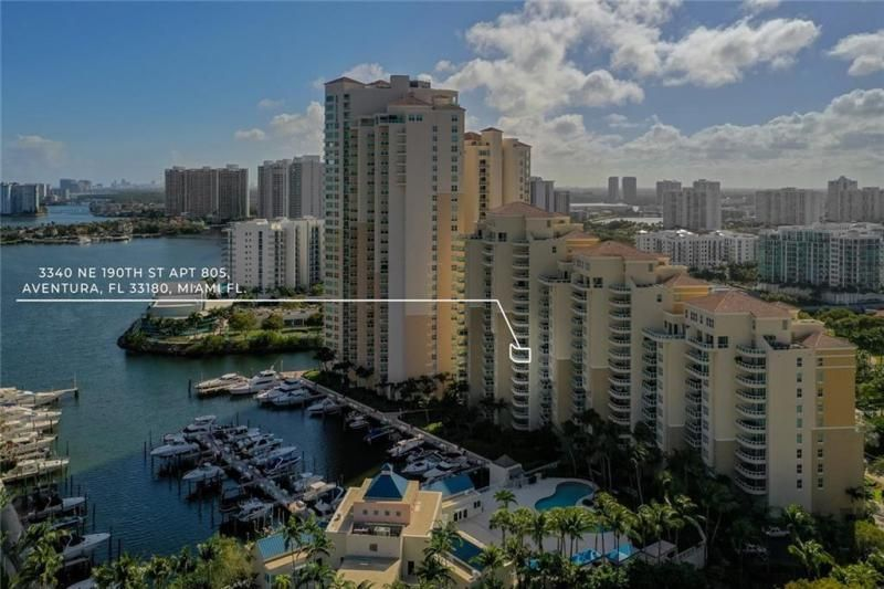 Aventura Marina for Sale - 3340 NE 190th St, Unit 807, Aventura 33180, photo 32 of 34