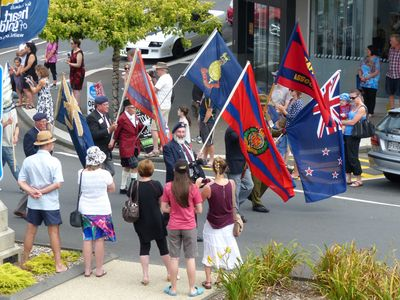 WWI NZ Tunnelling Company Memorial Parade