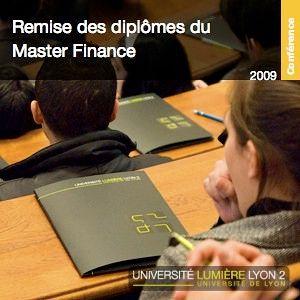 Cérémonie de remise des diplômes - Master Finance
