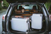 【中肯‧開箱】American Traveler 出國行李箱|TSA海關鎖‧ABS材質耐刮菱...