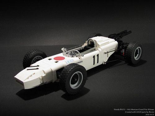 Honda RA272 construído com peças LEGO por Biczzz