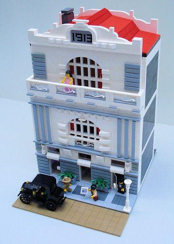 1913 construído com peças LEGO por Noro