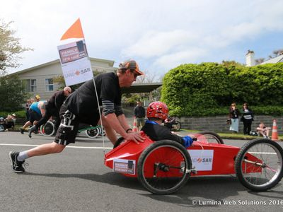 GO Waihi Annual Trolley Derby 2016