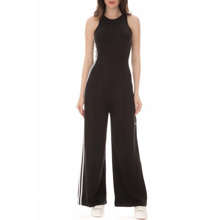 adidas Originals - Γυναικεία ολόσωμη φόρμα adidas Originals μαύρη