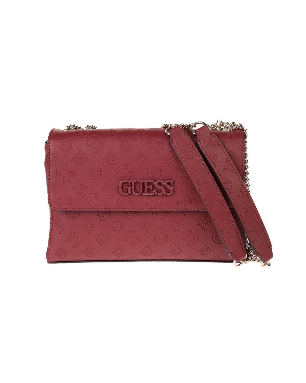 GUESS - Γυναικεία τσάντα χειρός GUESS κόκκινη