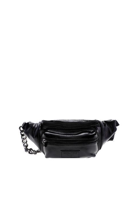 KENDALL+KYLIE BAGS - Γυναικείο τσαντάκι μέσης KENDALL+KYLIE BAGS FANNY PACK MICHELLE μαύρο