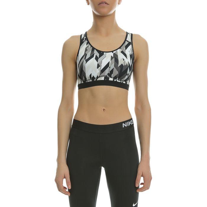 NIKE - Γυναικείο αθλητικό μπουστάκι NIKE PRO FIERCE GEO με μοτίβο