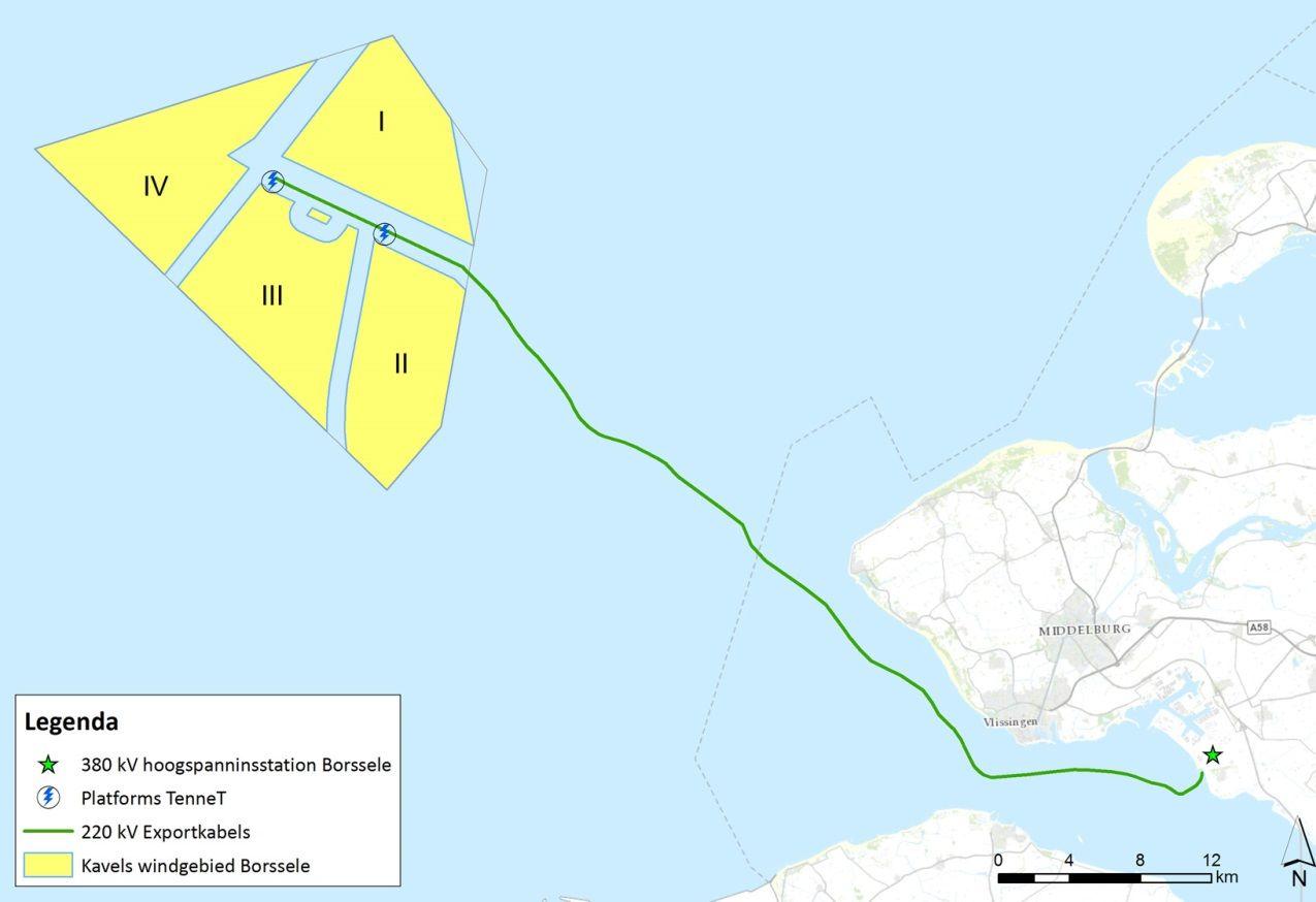 Aanleg transportkabel offshore windparken Borssele door Westerschelde kan starten