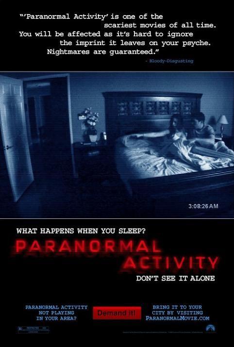 Paranormal Activity (2007) DVDRip.XViD-G0M0Ri45 Lektor Polski !