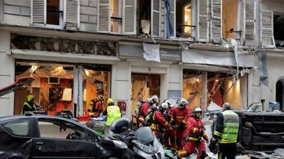 Експлозија во центарот на Париз