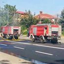 Изгоре двокатен автобус на ЈСП, нема повредени патници