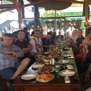 ГАЛЕРИЈА Фудбалската манија ги собра функционерите, Владата поделена меѓу Хрватска и Франција