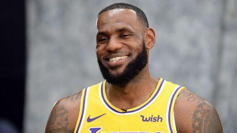 LeBron James 在 IG 上傳有趣發現:「我的目標是拿下最佳新秀」