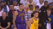 Rajon Rondo 指導 Lonzo Ball,Stephen Curry 明目張膽地去偷聽
