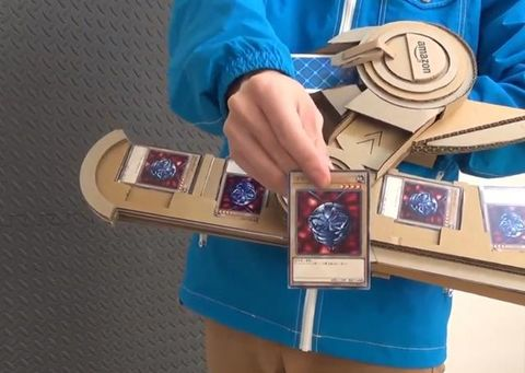 決鬥!日本神人用紙皮整左個遊戲王決鬥盤 仲要識郁