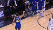 只剩 1.8 秒!Stephen Curry 命中跨越 3/4 個球場的超遠壓哨三分球